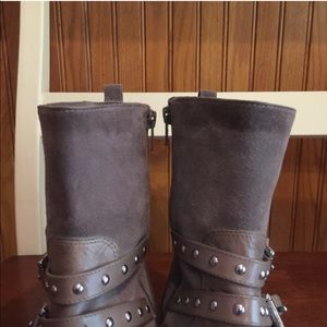 Coach Shoes - COACH Lilliana  Ankle Boot, Taupe, 9B